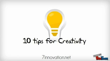 10TipsForCreativity